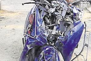 Police suspect the cause of  the accident in Noida's sector 95 in which two Delhi teens were killed could be low visibility due to smog at that time because of which the duo could not see the tree and crashed into it at high speed.