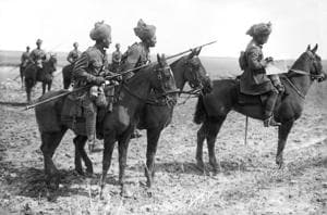 Forward scouts of the 9th Hodson