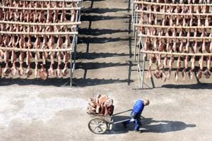 A Chinese ham producer has come up with an innovative way to pay its creditors. Some holders of its debt will now receive its pork products instead of interest payment.