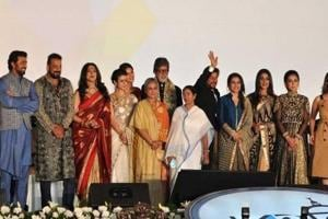 A file picture of the inauguration of Kolkata International Film Festival.