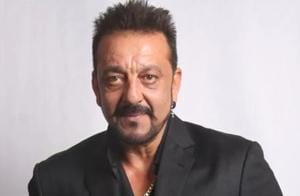 Sanjay Dutt abused photographers stationed outside his house on Diwali.