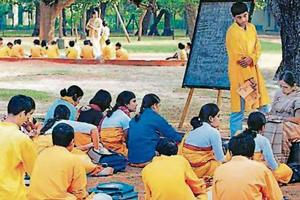 Kala Bhavan, the fine arts school of Visva-Bharati university, is credited with introducing in India an all-inclusive visual culture, combining various forms of fine arts with crafts and blending realism with abstraction..