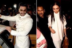 Ranveer Singh and Deepika Padukone leave for their wedding in Italy.