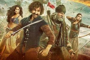 Thugs of Hindostan stars Aamir Khan, Amitabh Bachchan, Katrina Kaif and Fatima Sana Shaikh in prominent roles.