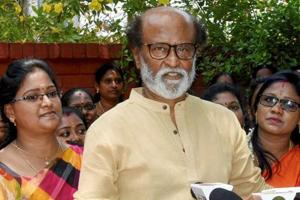 The AIADMK on Saturday hit out at veteran actor Rajinikanth for criticising protests by party activists against film Sarkar (File Photo)