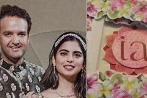 Isha Ambani and Anand Piramal who are all set to get married on December 12.