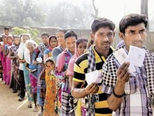 Voting for 18 assembly constituencies of Chhattisgarh, including 12 'red zone' seats, in the first phase  will take place in on Monday.