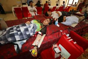 The shortage is unlikely to last long as a number of NGOs have come in support of major hospitals to arrange blood camps and fill the shortage.