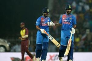India vs West Indies 3rd T20I: Statistical highlights of Indian innings