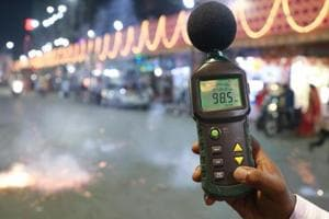 Maharashtra pollution control board (MPCB) has reported serious noise pollution at 18 spots in the city on November 7, the main day of Diwali.
