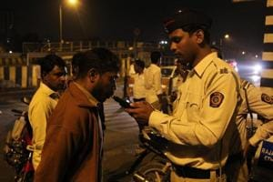 As many as 33,000 people were caught driving in an inebriated state on Delhi's roads this year, around 27% higher than last year, data from Delhi traffic police shows.