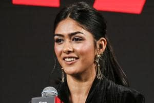 Mrunal Thakur speaks during a panel on day two of the Netflix See What