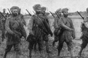 In 1914, Reginald Savory was 2nd Lieutenant with the 14th Ferozepur Sikhs, stationed at Peshawar in the north-west frontier.