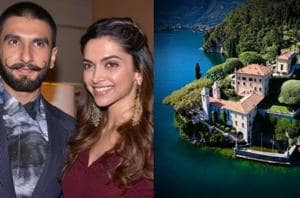 Ranveer Singh and Deepika Padukone  will marry at a stunning 18th century mansion, known as Villa del Balbianello, in Lake Como, Italy. (Instagram)