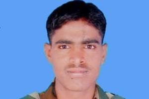 A 29-year-old soldier Naik Gosavi Keshav Somgir of the Indian Army  was killed during a firing by Pakistani troops .