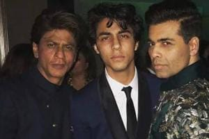 Karan Johar shared this picture to wish his godson Aryan Khan on his birthday.