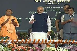 Prime Minister Narendra Modi on Monday inaugurated India's first multi-modal terminal on the Ganga river in his parliamentary constituency in Varanasi.