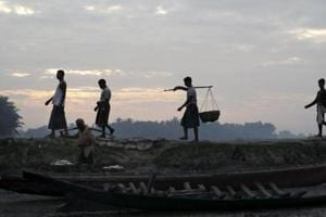 Dozens of Rohingya Muslim families on a list of refugees set to be repatriated to Myanmar later this week have fled from camps in Bangladesh where they were living.