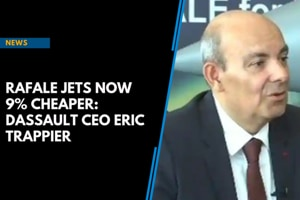 Rafale jets now 9% cheaper: Dassault CEO Eric Trappier