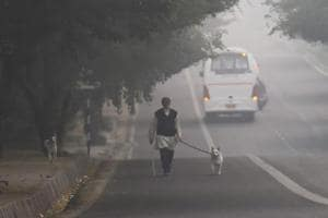 Delhiites woke up to foggy and cloudy morning on Tuesday, November 13, 2018, with the air quality back to 'severe' level.