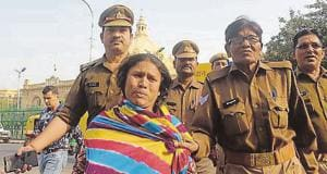 Asma Khatoon, a resident of Madion area attempted self-immolation outside Vidhan Bhawan
