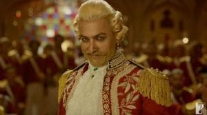Thugs of Hindostan failed the Monday box office test having collected an estimated Rs 5 crore.