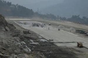 The new airport has come up at Pakyong, about 35km from Sikkim's capital Gangtok.