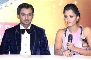 File picture of Shoaib Malik and Sania Mirza