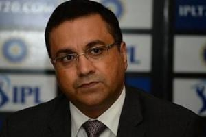 Board of Control for Cricket in India (BCCI) CEO Rahul Johri looks on as he speaks during a press conference in New Delhi.
