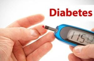 Diabetes is associated with abnormally high levels of sugar (glucose) in the blood