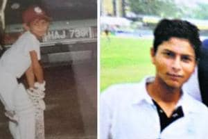 Photographs of Kuldeep Yadav and Sunil Narine shared by Kolkata Knight Riders as part of a contest on Children's Day.