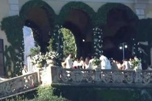 Watch: First visuals of Deepika-Ranveer wedding in Italy