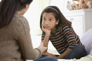 Teach kids that they are the bosses of their own bodies, and they have a say in who touches them. (Shutterstock)