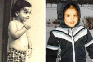 Can you guess these Bollywood stars from their childhood photos.