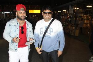 Kapil Sharma was spotted at the airport on Tuesday.