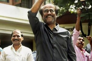 """Rajinikanth said on Tuesday that PM Narendra Modi seemed to be a """"strong"""" man electorally, which was evident from a mega alliance trying to shape up against the BJP-led NDA government at the Centre."""