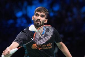 File image of Kidabi Srikanth in action during a match.