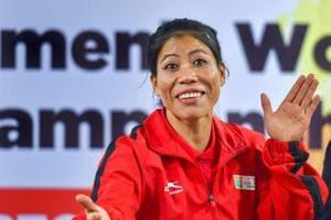 New Delhi: Boxer and brand ambassador of the 10th Women