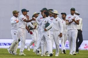 Bangladesh picked up two Zimbabwe wickets before close of play on the fourth day of the second Test in Mirpur.