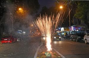 MPCB officials said there was a 50% decline in use of firecrackers across Mumbai and 30% decline across the state.