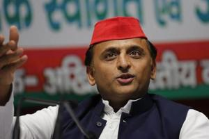 SP president Akhilesh Yadav went lyrical Wednesday to slam the Adityanath government for renaming Uttar Pradesh cities, saying the developmental works in the state have come to a halt due to it.