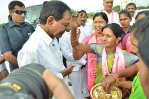 TRS president and chief minister K Chandrasekhar Rao is known for his staunch faith in customs and rituals.
