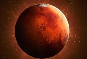 At an average distance of about 140 million miles (225 million kilometers), Mars poses scientific problems an order of magnitude greater than anything encountered by the Apollo lunar missions.