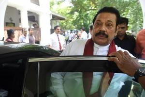 A majority of the 225-member assembly supported a no-confidence motion against Mahinda Rajapakse who was made prime minister on October 26 in place of Ranil Wickremesinghe.