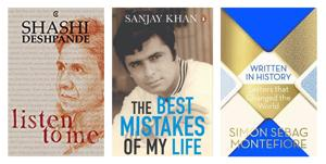 A stalwart of Indian English writing, a Bollywood memoir and a collection of letters on HT Picks this week.