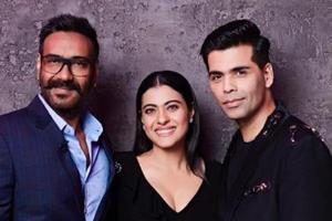 Ajay Devgn and Kajol will be seen gracing the couch on Koffee With Karan.