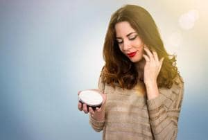 Coconut oil is an all-in-one moisturiser, works wonders for the hair and is also an effective makeup remover.