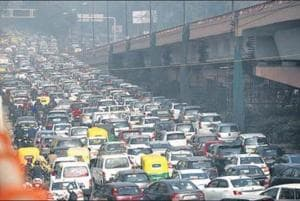 Transport department suggests that out of the 33 lakh private vehicles in Delhi, only 4.5 lakh run on CNG.