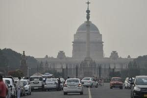 A view of Rajpath, New Delhi, on Wednesday, November 14, 2018.