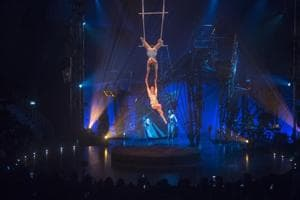 Photos: Canadian troupe Cirque du Soleil debuts in India